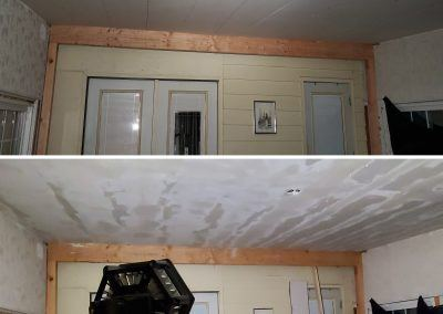 Elgin, IL ceiling water damage installed Drywall