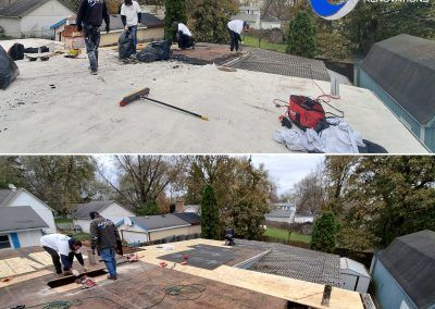 Elgin Flat Roof Replacement Tear Off