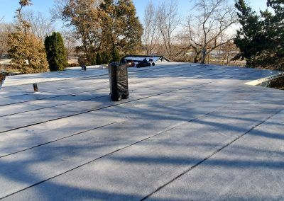 Elgin Flat Roof Replacement finished